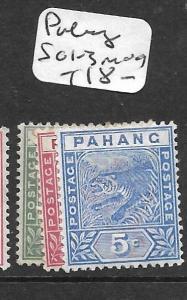 MALAYA PAHANG  (P2904B)    TIGER SG  1-3   MOG