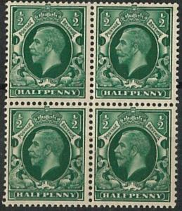 60873 - GB  - STAMPS: Stanley Gibbons # 43 wi BLOCK of 4 MLH - NICE!