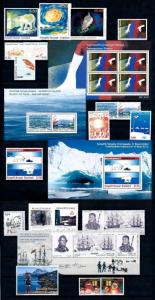 Greenland 2010 Year Set  MNH