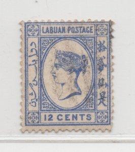 Malaya Labuan - 1894 - SG55a - 12c - no gum #677