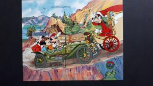 Disney - Grenadines of St. Vincent 1989. - Christmas  /cars** MNH Block/2