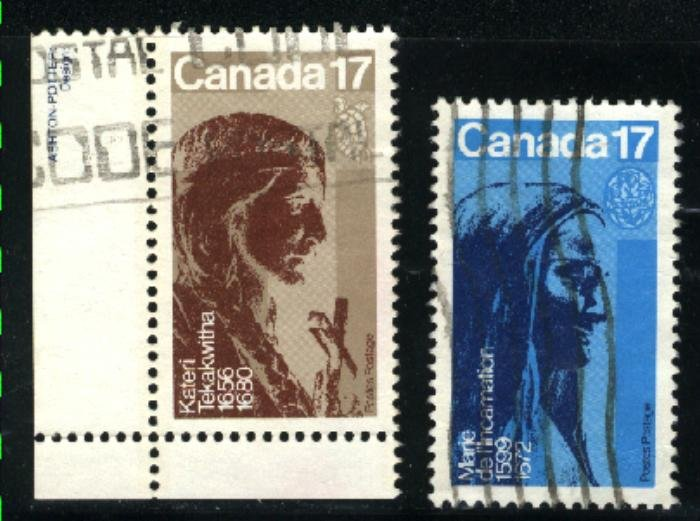 Can #885-86   -4   used VF 1981 PD