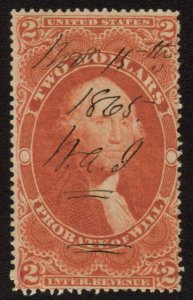 MALACK R83c F/VF, light creases, great color n7286