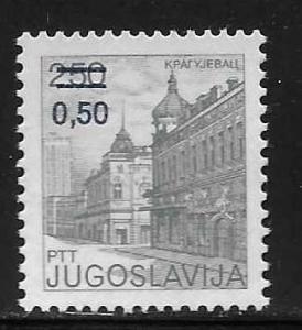 Yugoslavia 1595 Surcharge single MNH