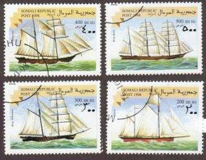 Somali Republic - set of 4 ships