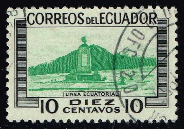 Ecuador #577 Equatorial Line Monument; Used (0.50)
