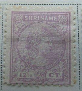 Surinam 1892-93 12 1/2c Fine MNG A13P9F937