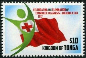 HERRICKSTAMP NEW ISSUES TONGA Sc.# 1330 Elimination of Lymphatic Filariasis
