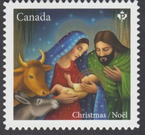 Canada - *NEW* Christmas, Nativity 2020, Die Cut Stamp From Quarterly Pack - MNH