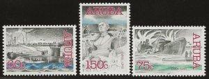 ARUBA  SC #   222 - 4   MNH