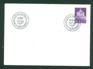 Sweden FDC. 1967. The Fortress  The Lion Scott # 720.