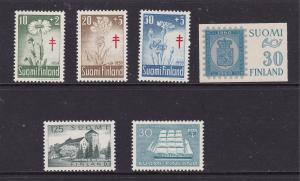 Finland a small mint lot 1959-60