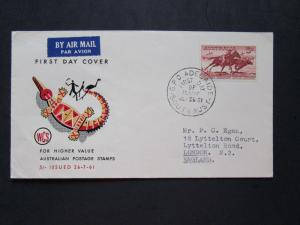 Australia SG# 327 on WCS Cacheted First Day Cover - Z4058