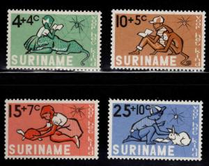 Suriname Scott B116-B119 MH* 1965 semi-postal set