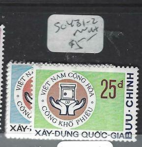 VIETNAM  (P1204BB)  SC 431-2        MNH