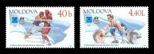 Moldova 2004 Summer Olympic Games - Athens 2 MNH stamps