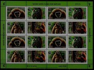 Laos 1722a MNH m/s WWF-08 SCV120