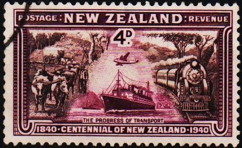 New Zealand. 1940 4d S.G.619 Fine Used