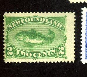 Newfoundland #46 MINT FVF OG LH Cat$65