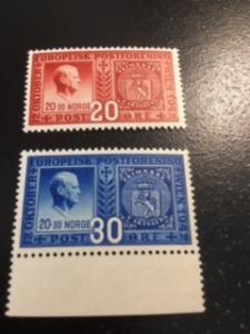 Norway sc 253,254 MNH
