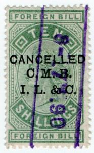 (I.B) QV Revenue : Foreign Bill 10/- (CMBIL&Co pre-cancel)