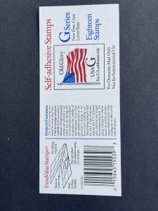 G Non-denomination Booklet of  18 BK2887a
