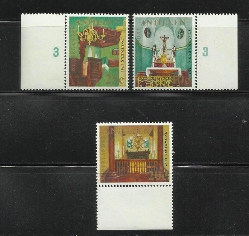 Netherland Antilles 1970 Scott# 324-326 Mint Never Hinged