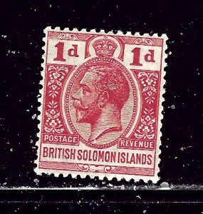 Solomon Is 44 MH 1927 issue