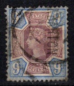 Great Britain #120  F-VF Used   CV $45.00  (X1291)