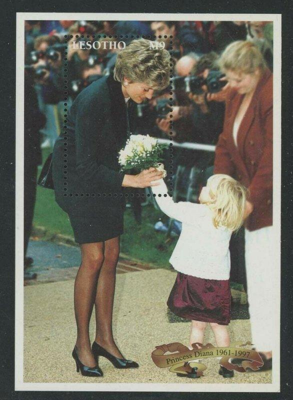 Lesotho 1998 Princess Diana S/S Sc# 1090 NH