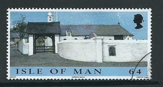 Isle of Man VFU  SG 860