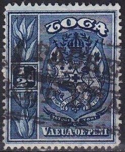 TONGA [1897] MiNr 0038 ( O/used )