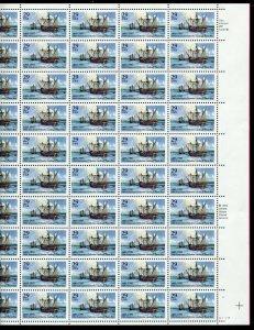 2805 Columbus Landing in Puerto Rico Sheet of 50 29¢ Stamps MNH