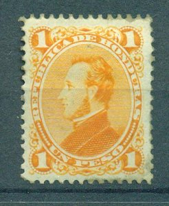 Honduras sc# 38 mh cat value $6.00