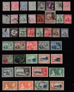 TOBAGO - TRINIDAD - TRIN/TOB -109 Diff. - Scott Catalog Value $172.25