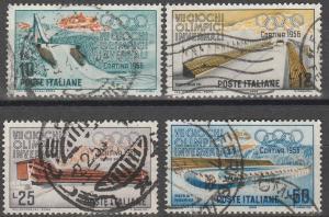 Italy #705-8 F-VF Used CV $3.00 (V2697)