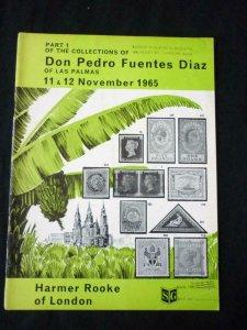 HARMER ROOKE AUCTION CATALOGUES 1965 THE DIAZ COLLECTION OF LAS PALMAS PART 1