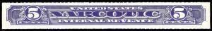 U.S. REV. NARCOTICS RJA62b  Mint (ID # 88701)- L