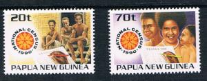 PapuaNewGuineaSC733-734NationalCensusChildrenFamily1990