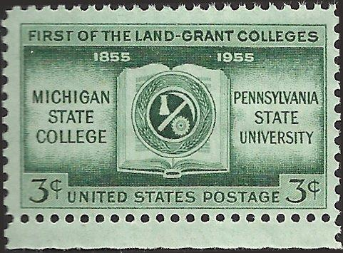 # 1065 MINT NEVER HINGED LAND GRANT COLLEGES