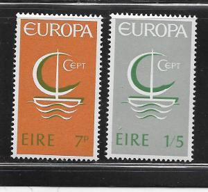 IRELAND,216-217, MINT HINGED, EUROPA