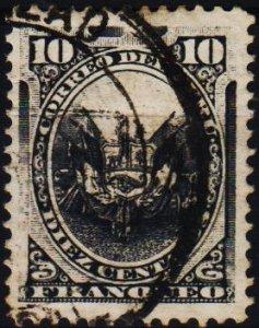 Peru. .1886 10c S.G.281 Fine Used