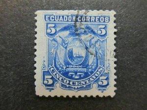 A4P46F49 Ecuador 1881 5c used