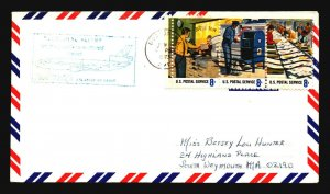 US 1973 Iberia First Flight Cover USA to Spain  - Z17777