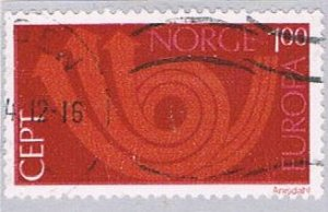 Norway Europa 100 - pickastamp (NP38R801)