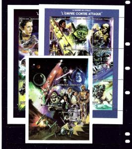 Togo 1849-51 MNH 1997 Star Wars two sheets and S/S