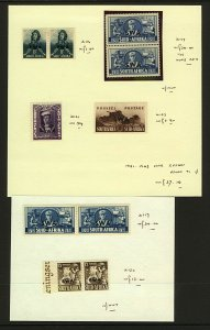 South West Africa 1941 War Effort (with SWA overprint) range of issues in Stamps