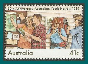 Australia 1989 Youth Hostels, MNH  1153,SG1219