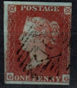 Great Britain #3  F-VF Used CV $9.00 (X1177)