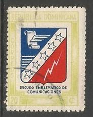 Dominican Republic 418 VFU Z1296-9